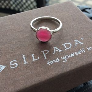 Silpada Punch of Pink Ring